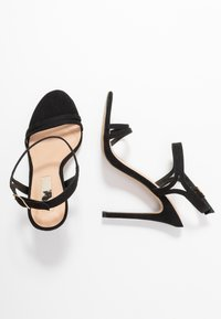 Office Wide Fit - HOTCAKE WIDE FIT - High heeled sandals - black - 3