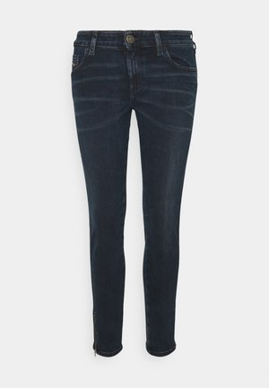 SLANDY-LOW-ZIP - Skinny džíny - denim blue