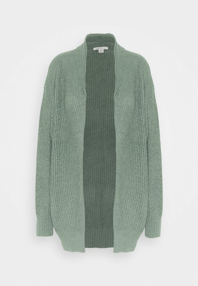 LOUNGE SHAWL COLLAR CARDIGAN - Gilet - royal palm