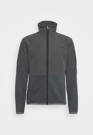 MENS YARAS JACKET - Kurtka z polaru - black