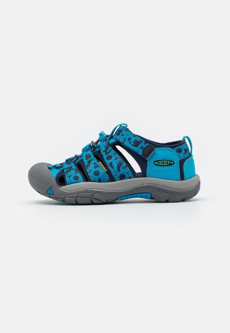 Keen - NEWPORT H2 UNISEX - Walking sandals - vivid blue/katydid