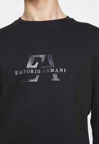 Emporio Armani - Sweatshirt - dark blue - 4