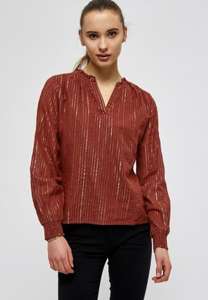 Blouse - red rose