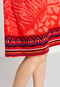 Ivko - ANIMAL PATTERN - Day dress - red - 4