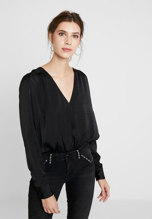 AMELIA BODY - Blouse - jet black