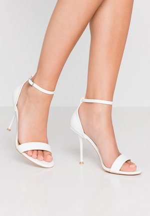 AVALYN - High heeled sandals - white