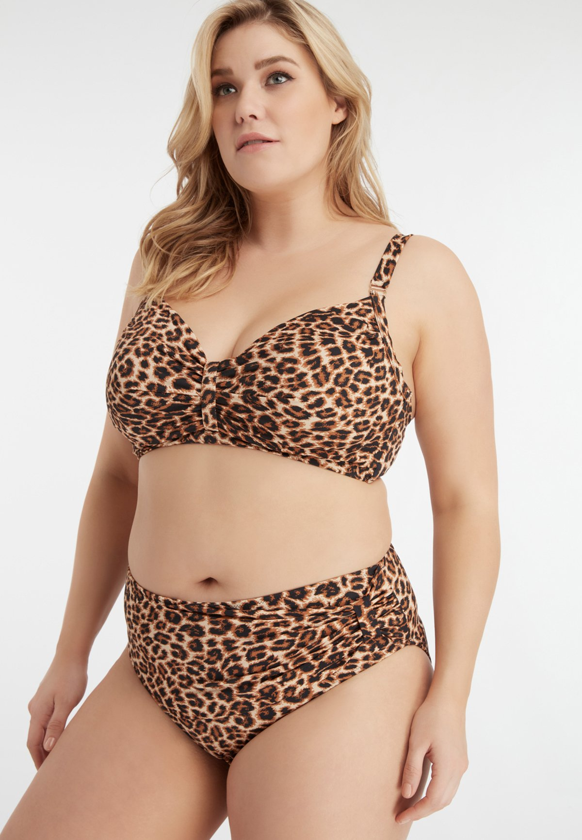 Femme MET PRINT - Haut de bikini