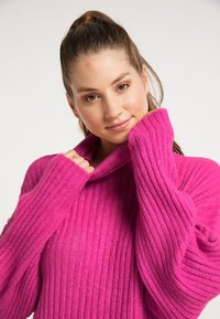 myMo - Jumper dress - fuchsia - 3