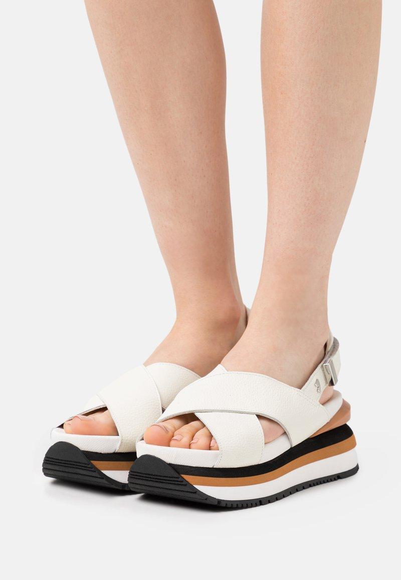 Gioseppo - Platform sandals - blanco