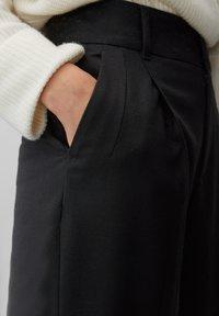 Marc O'Polo PURE - Trousers - pure black - 4