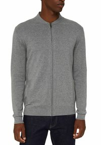 Esprit - PIMA - Cardigan - medium grey - 7