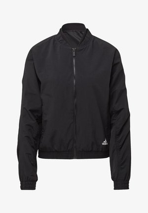 WOVEN BOMBER JACKET - Training jacket - black