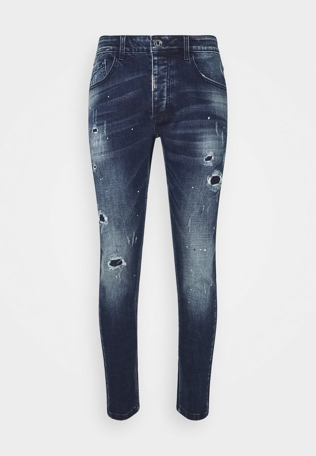 SUPER SLIM  - Jeans Relaxed Fit - indigo