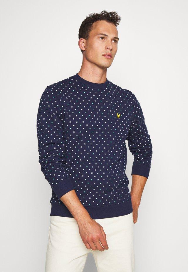 PRINTED - Sweatshirt - navy