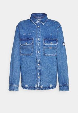 WORKER JACKET - Denim jacket - denim light