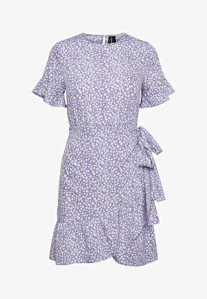RUNDHALSAUSSCHNITT - Day dress - purple rose