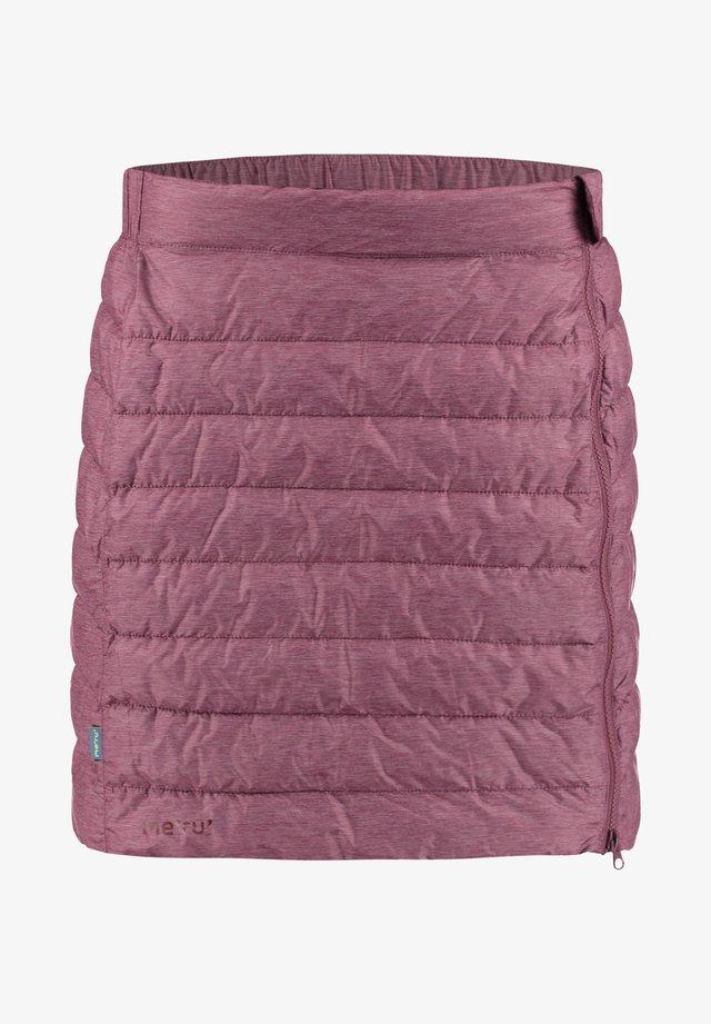 Mini skirt - bordeaux
