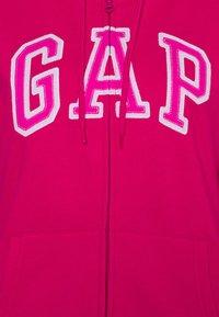 GAP - Zip-up hoodie - lipstick pink - 2