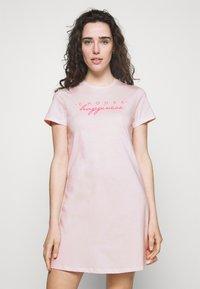 ONLY - ONLIRINA NIGHTWEAR DRESS - Camisón - pink marshmallow - 0