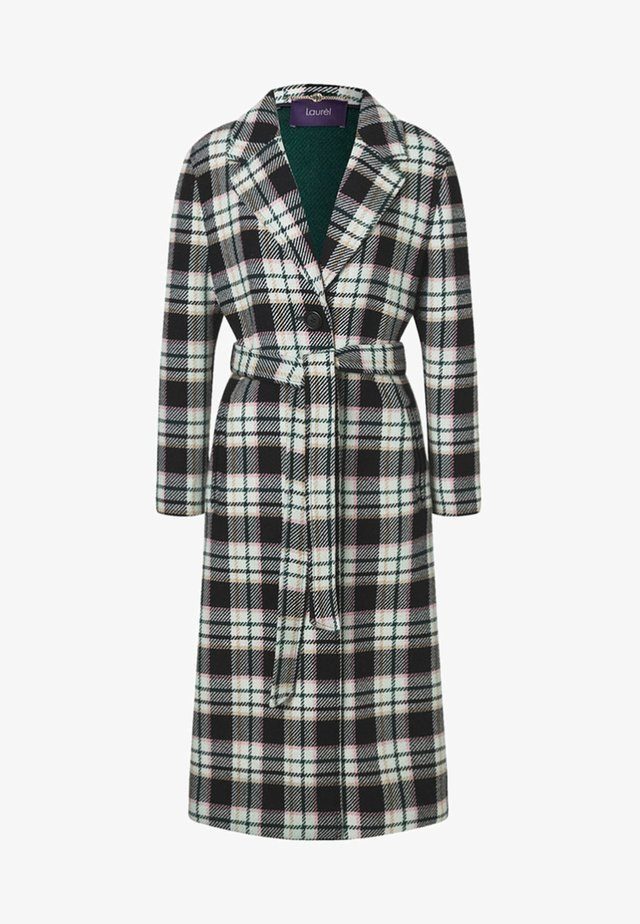 KARO MANTEL - Classic coat - black