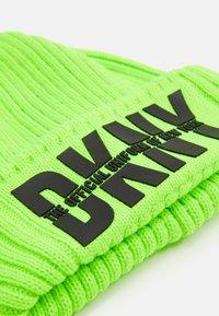 DKNY - PULL ON HAT UNISEX - Čepice - fluo green - 2