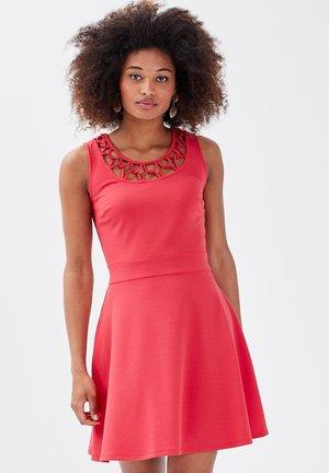 Jersey dress - rouge foncé
