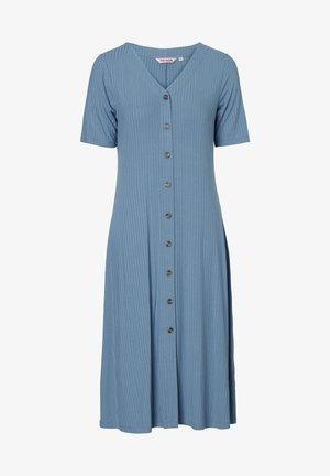 DRESS MAYA - Shirt dress - blue