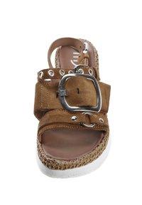 MJUS - Platform sandals - brown - 4