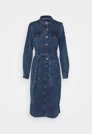 PCGAMIR COAT  - Kurtka jeansowa - medium blue