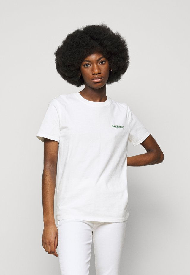 CASUAL TEE - T-shirt med print - offwhite