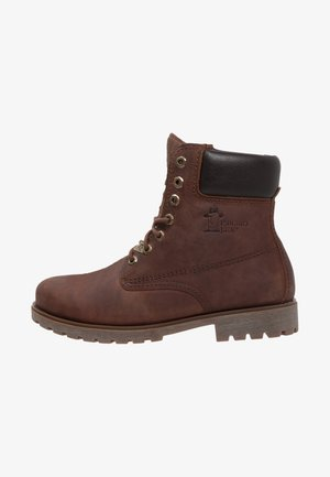 PANAMA  - Lace-up ankle boots - bark