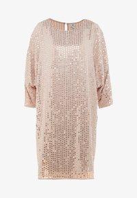 Koktejlové šaty/ šaty na párty - pink light