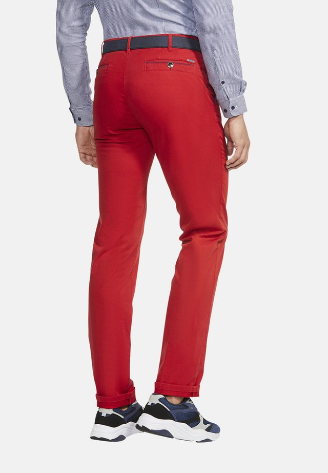 NEW YORK - Trousers - rot