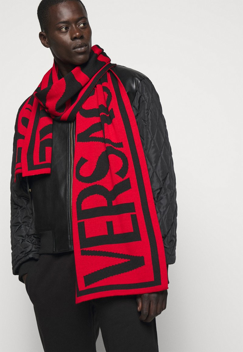 Versace Jeans Couture - UNISEX - Scarf - ruby/black