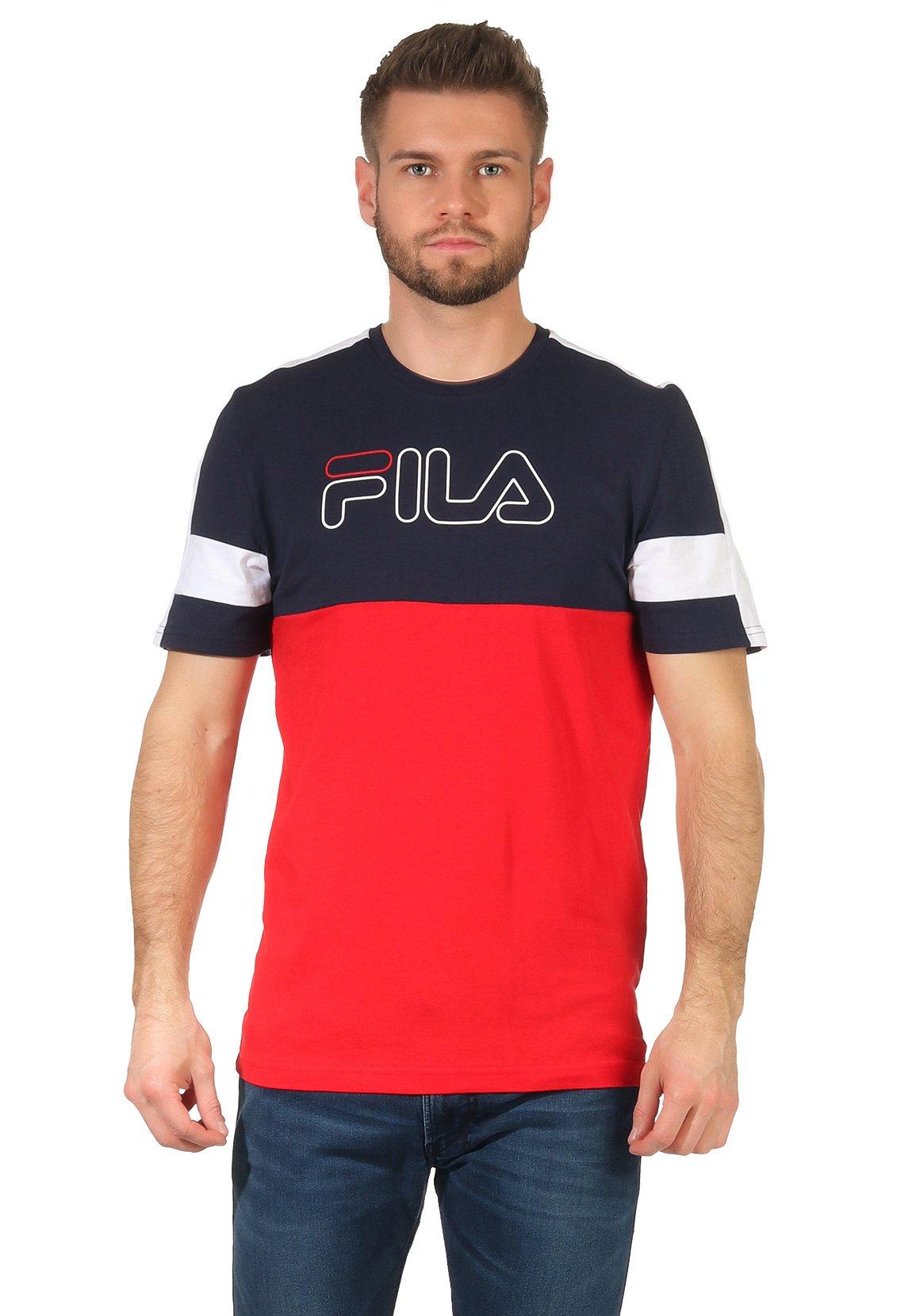 Herren JADON BLOCKED TAPE TEE - T-Shirt print