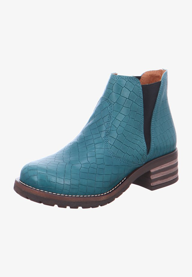 MILITARY - Classic ankle boots - blau