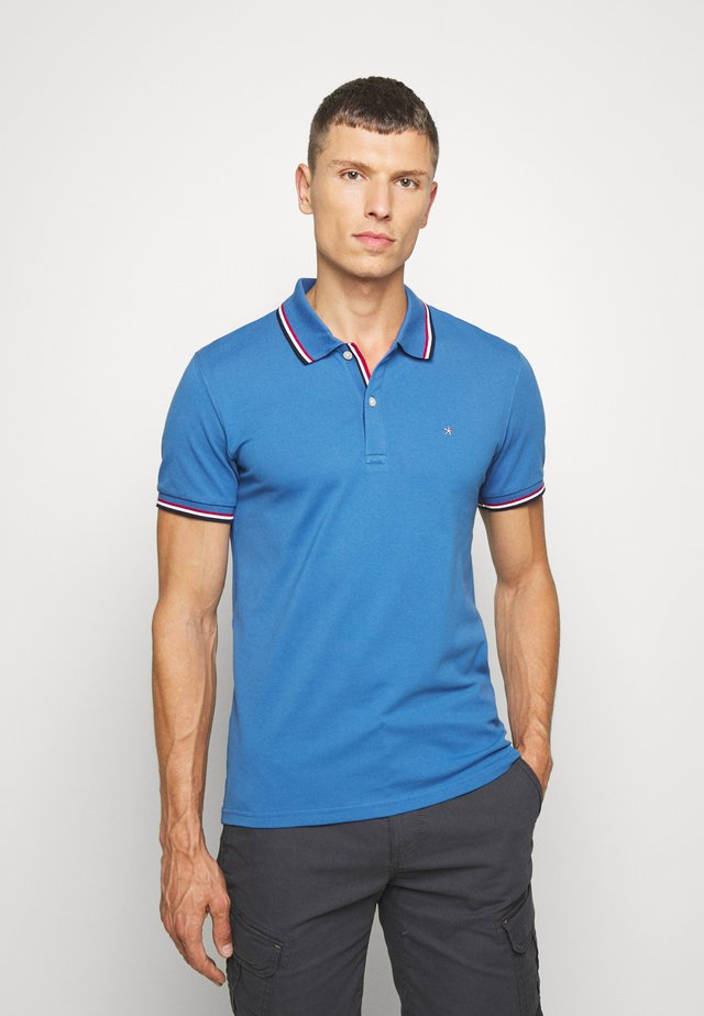 NECETVO - Polo shirt - blue wave