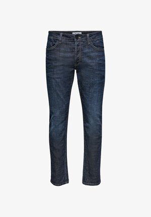 Slim fit -farkut - blue denim