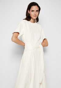 3.1 Phillip Lim - WRAPPED WAIST TIE DAY TSHIRT DRESS - Day dress - offwhite - 6
