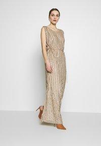 MANÉ - LAELIA DRESS - Suknia balowa - champagne/gold - 1