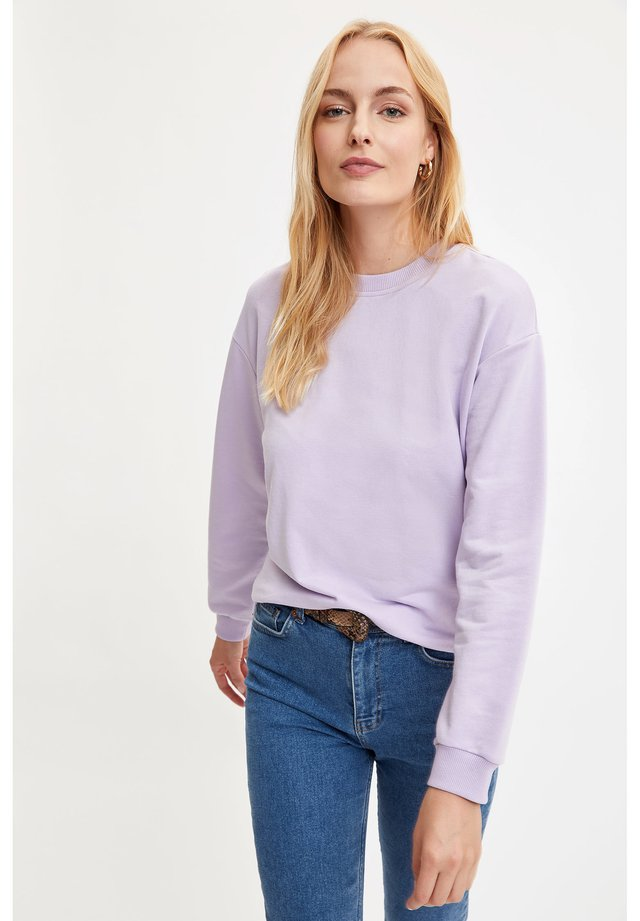 SWEATSHIRT - Sweatshirt - purple