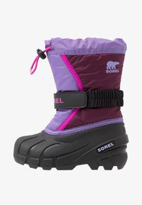 Sorel - YOUTH FLURRY - Zimní obuv - purple dahlia/paisley purple - 1