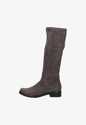 Vysoká obuv - dk grey stretc