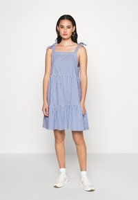 Monki - THELMA SUMMER DRESS - Kjole - blue medium - 1