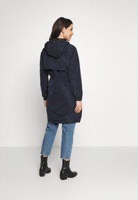 Seraphine - SKYLARRAINCOAT WITH BABY POUCH - Parka - navy - 2