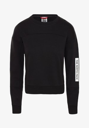 W LIGHT CROPPED - Sweater - black