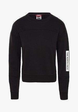 W LIGHT CROPPED - Sweatshirt - black
