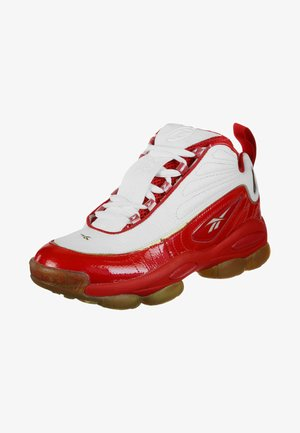 Basketball shoes - red/white