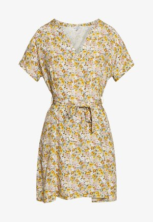 PRINTED DRESS - Kjole - antique white/soft ditsy