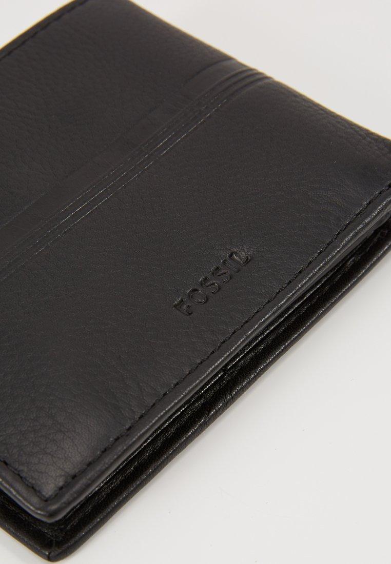 Fossil ROGER - Geldbörse - black/schwarz - Herrentaschen dcbbB